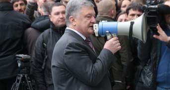 Ролики с Зеленским, кокаином и грузовиком да борды с Путиным: Порошенко очертил свою позицию