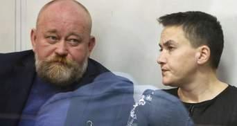 Савченко та Рубана суд звільнив з-під варти
