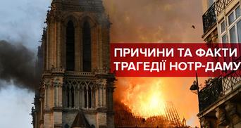 Пожежа у Соборі Паризької Богоматері: причини та факти трагедії Нотр-Даму