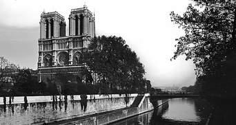 Нотр-Дам де Пари в истории: ретро-фото культового сооружения Парижа