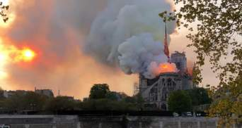 Пожар в соборе Парижской Богоматери: на восстановление памятника могут уйти десятилетия