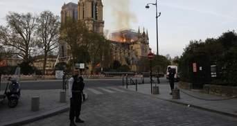 Пожар в Нотр-Даме: названа вероятная причина