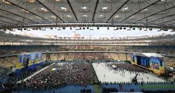 """Дебаты Зеленского и Порошенко: сколько людей пришло на """"Олимпийский"""""""