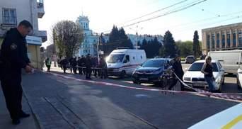 У Кам'янському стріляли в активіста, є постраждалі: фото (оновлено)
