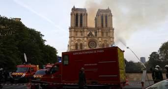 Пожар в Нотр-Даме: следователи установили очаг возгорания
