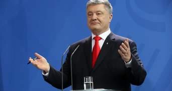 Порошенко пообещал подписать закон о языке, если Рада примет его в ближайшие дни