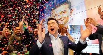 Кто поздравил Владимира Зеленского с победой в президентских выборах