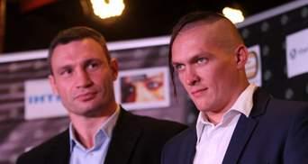 """Виталий Кличко пообещал провести бой Усика на НСК """"Олимпийский"""""""