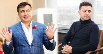 Вернется ли Саакашвили в Украину после победы Зеленского: ответ Сакварелидзе