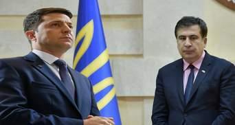 Чому повернення Саакашвілі до України стане тестом для Зеленського