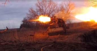 """""""Правий сектор"""" знищив позицію бойовиків на Донбасі: яскраве відео"""
