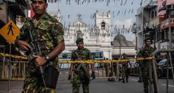 Теракти на Шрі-Ланці: затримали головних підозрюваних