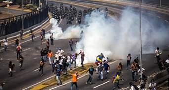 Венесуэлу всколыхнула новая волна масштабных протестов