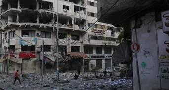В секторе Газа объявили о перемирии с Израилем накануне Евровидения-2019