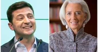Зеленский разговаривал с главой МВФ Лагард: о чем шла речь