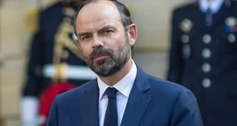 """Більшість громадян Франції не підтримують акції """"жовтих жилетів"""", – прем'єр-міністр країни"""