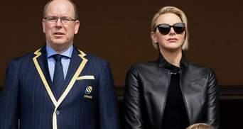 Княгиня Монако засветила стильный образ: что надела 41-летняя Шарлин на турнир по регби