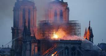 Який вигляд має інтер'єр Собору Паризької Богоматері після масштабної пожежі: фото
