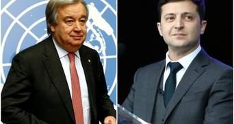 Генсек ООН написав важливий лист Зеленському напередодні інавгурації