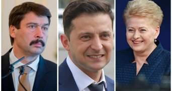 Лідери Угорщини і Литви розповіли, що очікують від президента Зеленського