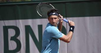 Стаховский в упорной борьбе не смог попасть на Roland Garros-2019