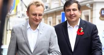 Садовий закликав Зеленського відновити громадянство України для Саакашвілі