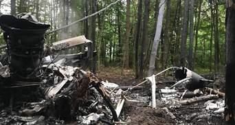 На Львовщине объявили траур из-за гибели экипажа военного вертолета на Ровенщине