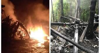 Яка причина катастрофи військового вертольота на Рівненщині: кілька версій