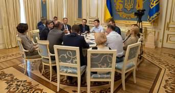 Стенограмму встречи Зеленского с лидерами партий обнародовали на сайте президента