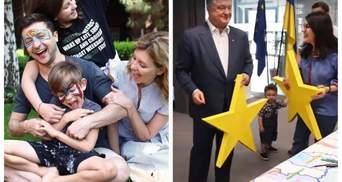 Зеленський в аквагримі та розмальовка у Порошенка: що в День захисту дітей постять політики