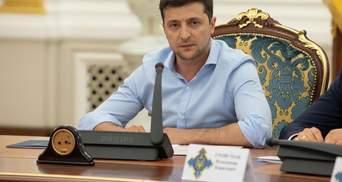 Зеленський анонсував обговорення припинення вогню на Донбасі та обміну полоненими