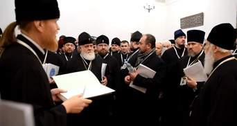 ПЦУ показала видео голосования, на котором ликвидировали Киевский патриархат