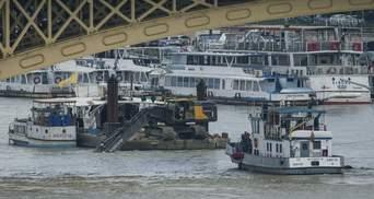 Кількість загиблих під час аварії катера у Будапешті збільшилася до 19 осіб: фото