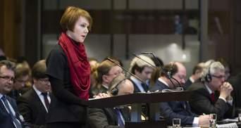 Три не равно пяти: Зеркаль в суде ООН резко раскритиковала аргументацию России