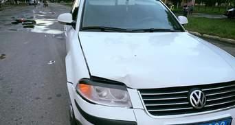 В Конотопе автомобиль начальника полиции сбил ребенка, водителю объявлено о подозрении: фото