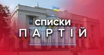 Парламентські вибори 2019: списки і програми партій, які проходять у парламент