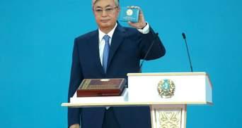 В Казахстане прошла инаугурация нового президента Токаева: первые фото
