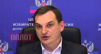 """Затримано голову """"цвк"""" окупантів, який організовував референдум на Донбасі: фото"""