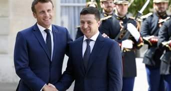 Официальный визит Зеленского в Париж: о чем президент Украины договорился с Макроном
