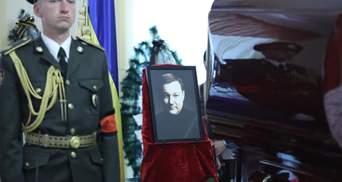 Похороны нардепа Дмитрия Тымчука: фото, видео