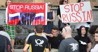 """Багатотисячні протести у Грузії: що відбувається і як причетна до заворушень """"рука Кремля"""""""