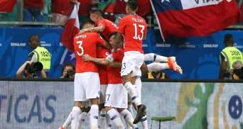 Копа Америка: сборная Чили в напряженном матче с Эквадором вышла в плей-офф (видео)
