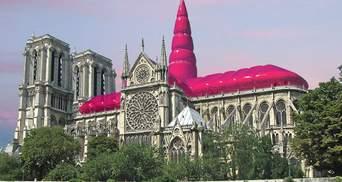 Нотр-Дам із надувним куполом: запропонували нову епатажну ідею відновлення собору – фото
