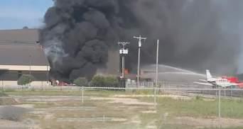 У Техасі розбився літак відразу біля аеропорту, ніхто не вижив: відео