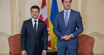 Зеленский встретился с премьером Канады Трюдо: о чем договорились политики – фото, видео