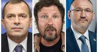 СБУ перевіряє, чи жили Клюєв, Шарій та Кузьмін в Україні в останні 5 років