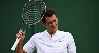 Австралийского теннисиста оштрафовали на круглую сумму из-за неудачной игры на Уимблдон-2019