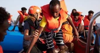 Мальта пустила на свій берег мігрантів з німецького рятувального судна
