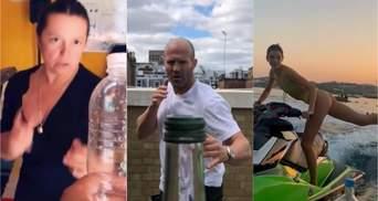 Bottle cap challenge: як Стейтем, Дженнер, Могилевська та інші епатують в мережі