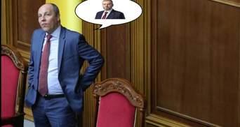 """Тени из прошлого"": Парубий устроил эмоциональную перепалку с Вилкулом"
